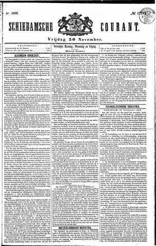 Schiedamsche Courant 1866-11-30