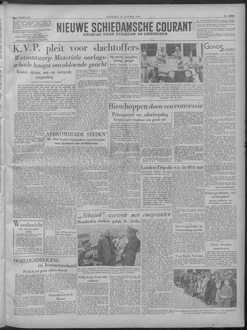 Nieuwe Schiedamsche Courant 1949-10-26