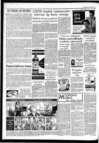 Rotterdamsch Parool / De Schiedammer 1957-11-29