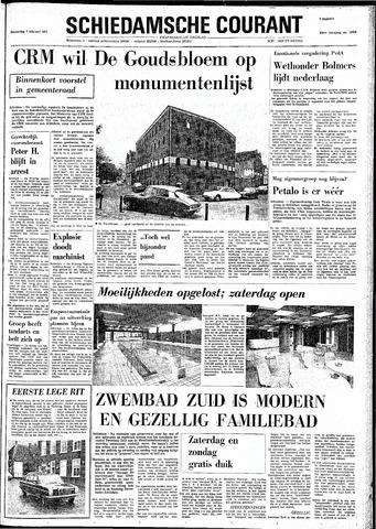 Rotterdamsch Nieuwsblad / Schiedamsche Courant / Rotterdams Dagblad / Waterweg / Algemeen Dagblad 1974-02-07
