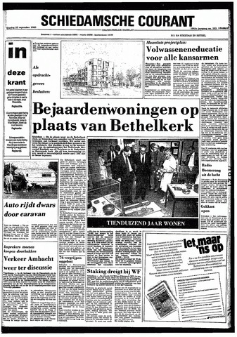 Rotterdamsch Nieuwsblad / Schiedamsche Courant / Rotterdams Dagblad / Waterweg / Algemeen Dagblad 1980-09-23
