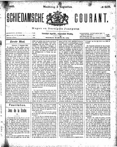 Schiedamsche Courant 1885-08-03
