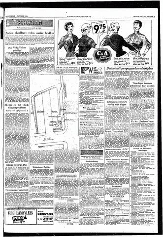 Rotterdamsch Nieuwsblad / Schiedamsche Courant / Rotterdams Dagblad / Waterweg / Algemeen Dagblad 1953-10-01