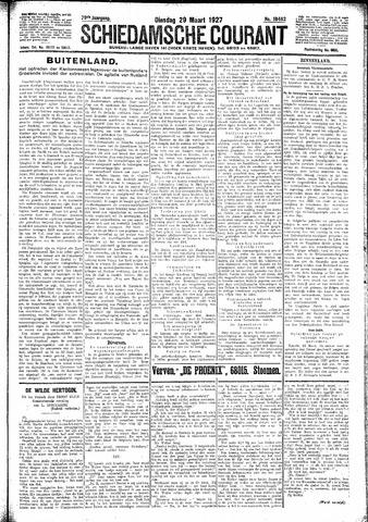 Schiedamsche Courant 1927-03-29