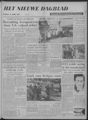 Nieuwe Schiedamsche Courant 1962-04-10