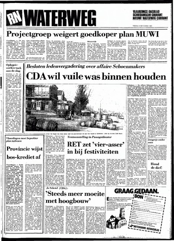 Rotterdamsch Nieuwsblad / Schiedamsche Courant / Rotterdams Dagblad / Waterweg / Algemeen Dagblad 1983-09-09