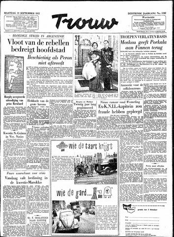 Trouw / De Rotterdammer 1955-09-19