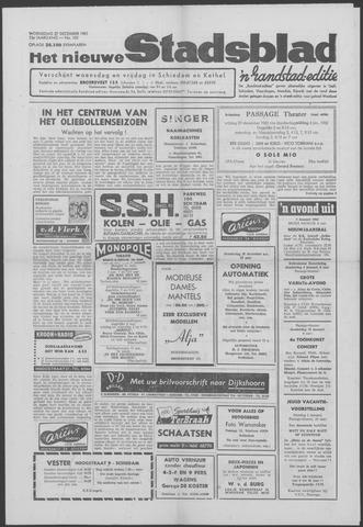 Het Nieuwe Stadsblad 1961-12-27