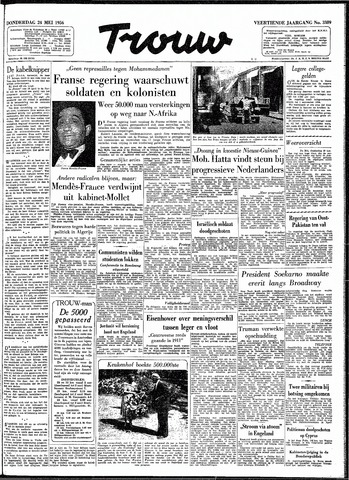 Trouw / De Rotterdammer 1956-05-24