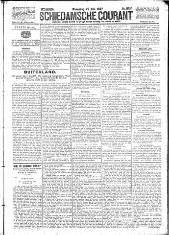 Schiedamsche Courant 1927-06-29