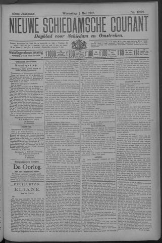 Nieuwe Schiedamsche Courant 1917-05-02