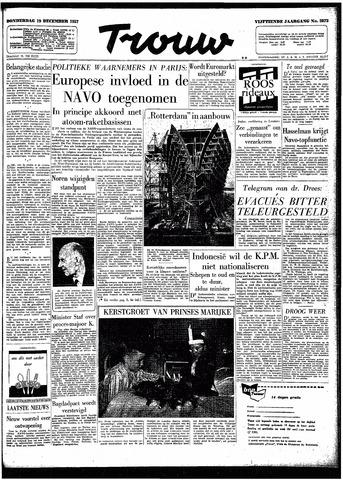 Trouw / De Rotterdammer 1957-12-19