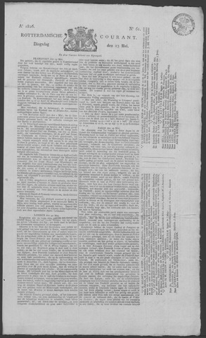 Rotterdamse Courant 1826-05-23