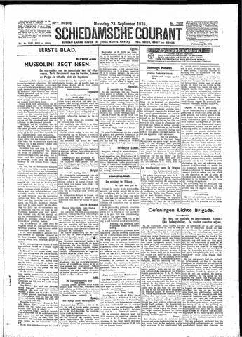 Schiedamsche Courant 1935-09-23