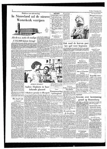 Rotterdamsch Parool / De Schiedammer 1955-09-06