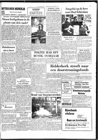 Rotterdamsch Nieuwsblad / Schiedamsche Courant / Rotterdams Dagblad / Waterweg / Algemeen Dagblad 1967