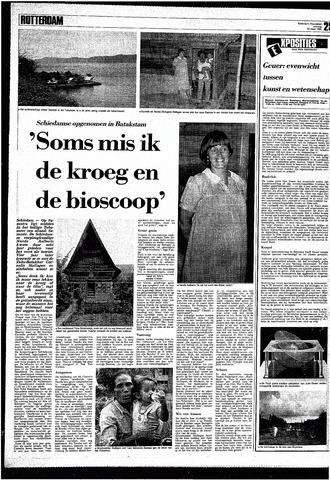 Rotterdamsch Nieuwsblad / Schiedamsche Courant / Rotterdams Dagblad / Waterweg / Algemeen Dagblad 1985-03-23