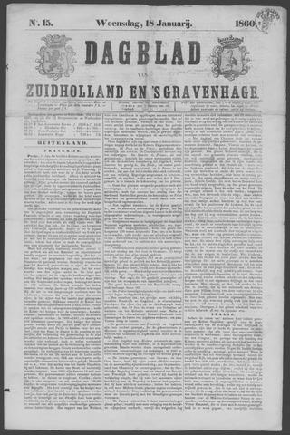 Dagblad van Zuid-Holland 1860-01-18