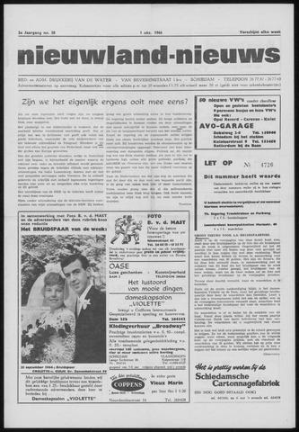 Nieuwland Nieuws 1964-10-01