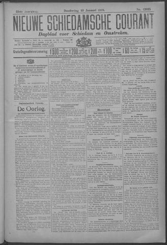 Nieuwe Schiedamsche Courant 1918-01-10