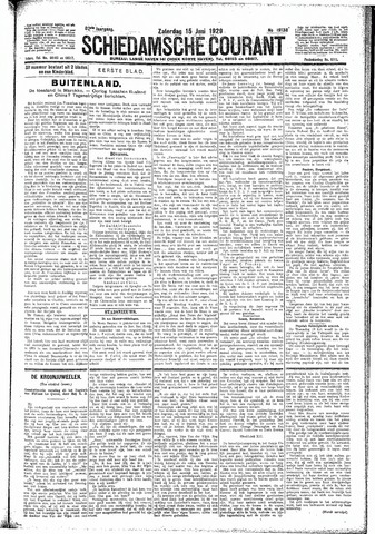Schiedamsche Courant 1929-06-15