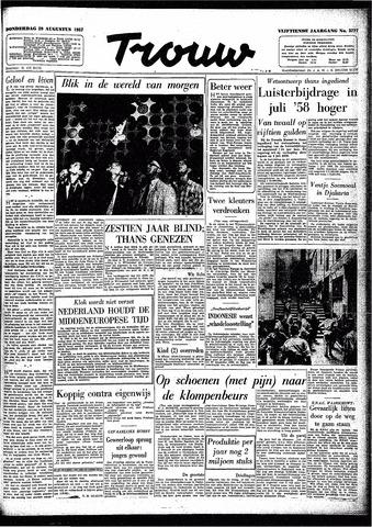Trouw / De Rotterdammer 1957-08-29