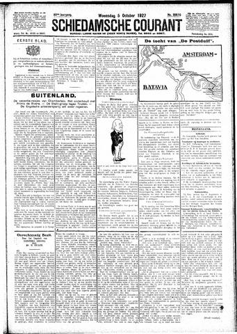 Schiedamsche Courant 1927-10-05