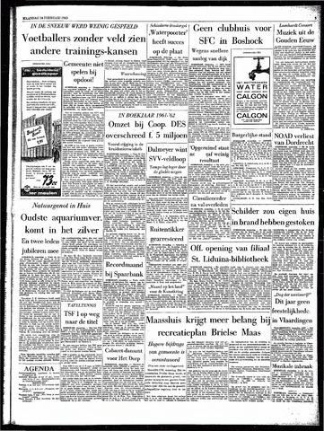 Rotterdamsch Parool / De Schiedammer 1963-02-18