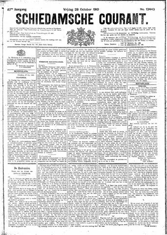 Schiedamsche Courant 1910-10-28