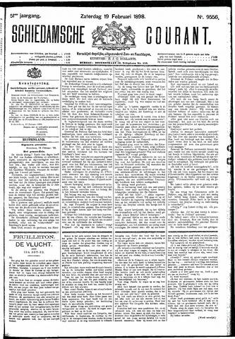 Schiedamsche Courant 1898-02-19