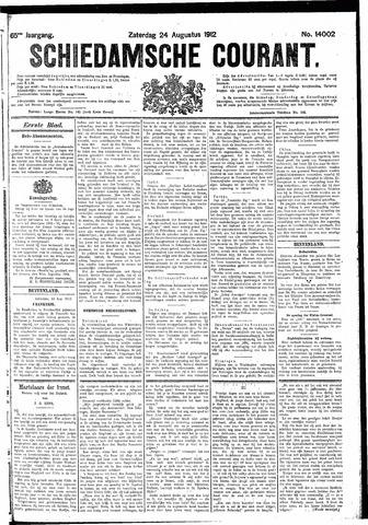 Schiedamsche Courant 1912-08-24