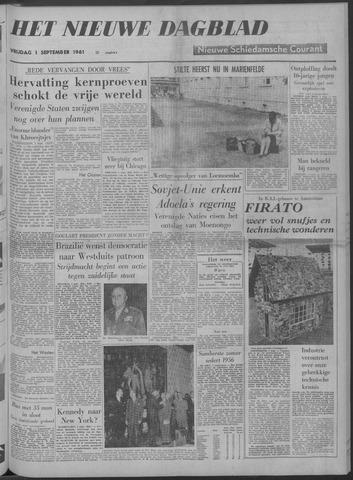 Nieuwe Schiedamsche Courant 1961-09-01