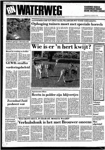 Rotterdamsch Nieuwsblad / Schiedamsche Courant / Rotterdams Dagblad / Waterweg / Algemeen Dagblad 1987-08-06