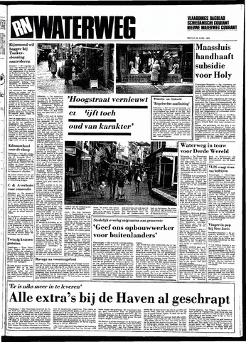 Rotterdamsch Nieuwsblad / Schiedamsche Courant / Rotterdams Dagblad / Waterweg / Algemeen Dagblad 1983-04-22