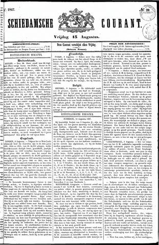 Schiedamsche Courant 1847-08-13