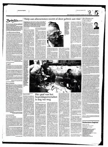Rotterdamsch Nieuwsblad / Schiedamsche Courant / Rotterdams Dagblad / Waterweg / Algemeen Dagblad 1998-09-09