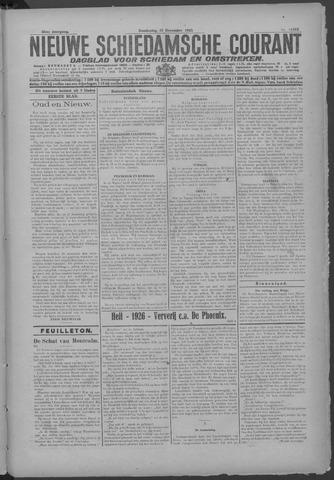 Nieuwe Schiedamsche Courant 1925-12-31
