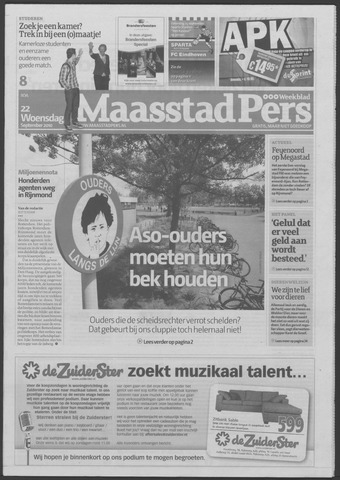Maaspost / Maasstad / Maasstad Pers 2010-09-22
