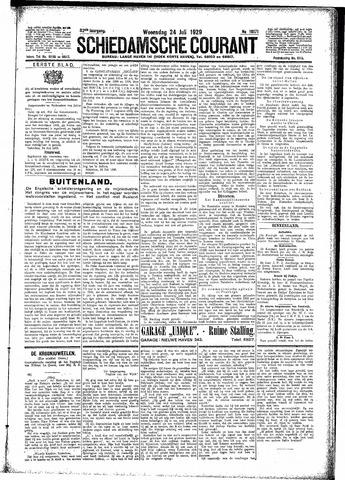 Schiedamsche Courant 1929-07-24
