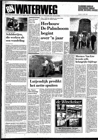 Rotterdamsch Nieuwsblad / Schiedamsche Courant / Rotterdams Dagblad / Waterweg / Algemeen Dagblad 1987-04-17