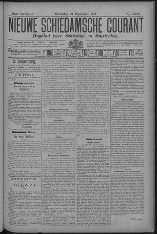 Nieuwe Schiedamsche Courant 1913-09-24