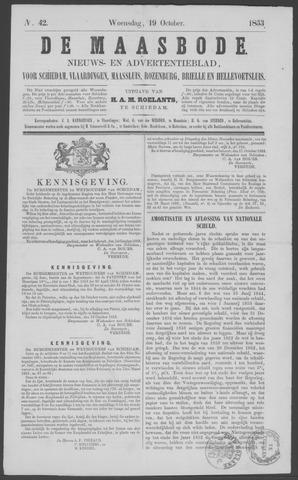 De Maasbode 1853-10-19