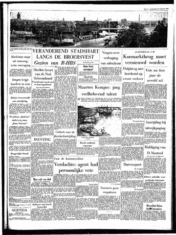 Rotterdamsch Parool / De Schiedammer 1964-08-27