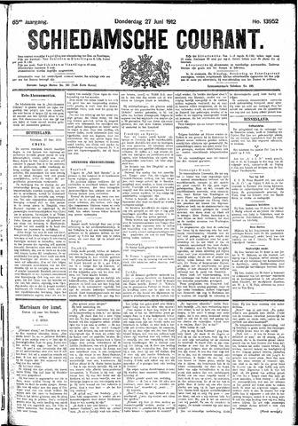 Schiedamsche Courant 1912-06-27