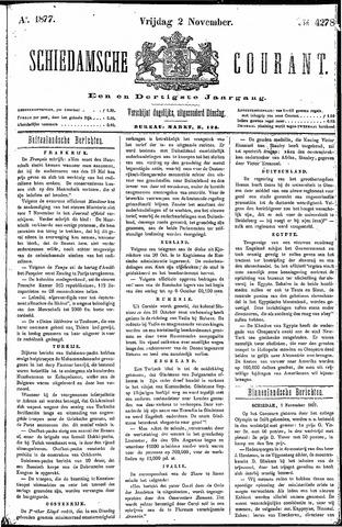Schiedamsche Courant 1877-11-02