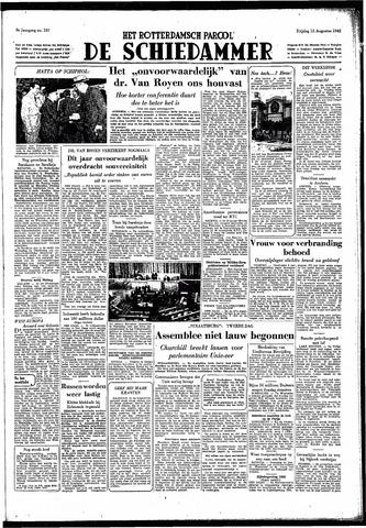 Rotterdamsch Parool / De Schiedammer 1949-08-12