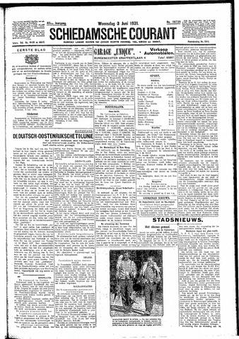 Schiedamsche Courant 1931-06-03