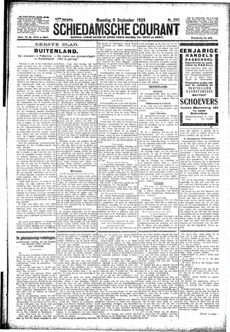 Schiedamsche Courant 1929-09-09