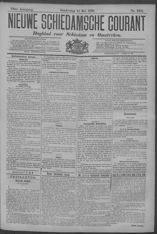 Nieuwe Schiedamsche Courant 1909-05-13