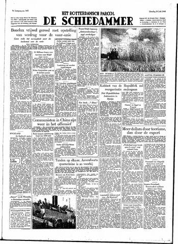 Rotterdamsch Parool / De Schiedammer 1949-07-19